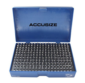 Accusize Industrial Tools 0 061 To 0 250 Minus Class Zz Pin Gauge Set 2