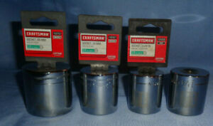 1 2 12 Point Drive Craftsman Socket Lot 36mm 32mm 1 1 4 1 1 8 Never Used
