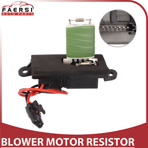Heater Blower Motor Resistor W Plug Pigtail For 2002 2006 Avalanche 1500 2500