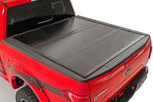Rough Country Low Profile Hard Tri fold Fits 19 20 Ford Ranger 6 Ft Bed Tonneau