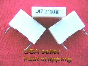 4 Pc 47uf 0 47uf 470nf 100v 5 Tol Metalized Film Capacitors Free Shipping
