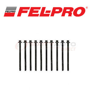 Fel Pro Cylinder Head Bolt Set For 2011 2016 Ford F 150 5 0l V8 Engine Zp