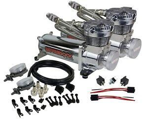 Chrome 480 Air Compressors With Air Intake Filter Relocator Kit 150 On 180 Off