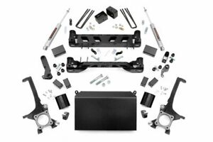 Rough Country 4 5 Lift Kit fits 2007 2015 Toyota Tundra N3 Shocks Knuckles