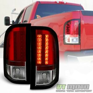 2007 2013 Chevy Silverado 1500 2500hd Red Lumileds Led Tail Lights Left right