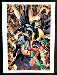 quot;All Star Batman amp; Robin #1quot; Fine Art Print by Jim Lee 12x16 Card Stock New $13.99