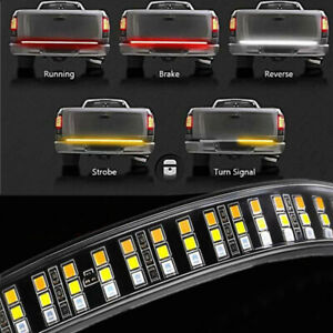 60 Tailgate Led Strip Bar Truck Stop Brake Turn Signal Tail Light For Ford F150