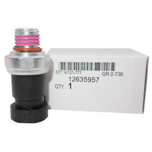 Engine Oil Pressure Sensor Switch For Gm Vehicles Ac Part D1843a 12635957