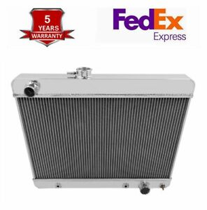3 row Aluminum Radiator Upgrade For 1965 1966 1967 Pontiac Gto tempest lemans
