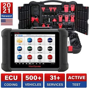 Autel Ms906 Obd2 Eobd Diagnostic Scanner Key Coding Full Systems Pk Ms908p Elite
