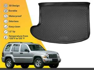 Cargo Liner Tray Floor Mat For Jeep Liberty 2002 2007