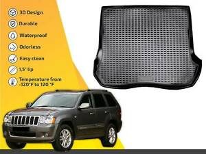 Cargo Liner Tray Floor Mat For Jeep Grand Cherokee 2005 2010