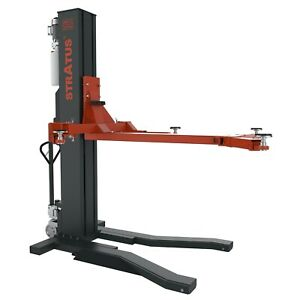 Stratus Single Post 6600 Lbs Capacity Automatic Safety Lock Release Car Lift