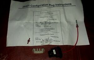 Fisher Western Plow Part 26421 Configuration Plug 4 Port Headlight Common wiring