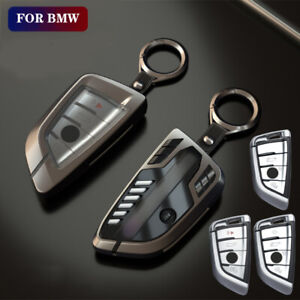 Car Smart Remote Key Case Cover Fob Shell Bag For Bmw 5 7 Series X3 X5 X6 Alloy