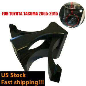 Center Console Water Cup Holder Insert Divider For Toyota Tacoma 2005 2015