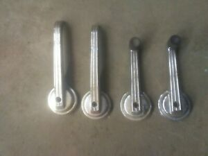 Vintage 1966 67 Ford Fairlane 500 Interior Handles Door Window Cranks Used