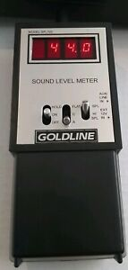 Goldline Spl120 Sound Level Meter 47db To 123db Usa Made