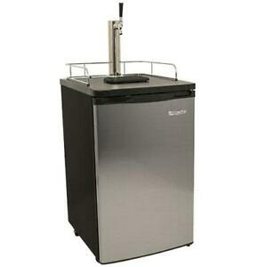 Edgestar Kc2000 20 w Kegerator And Keg Beer Cooler For Full Size Stainless