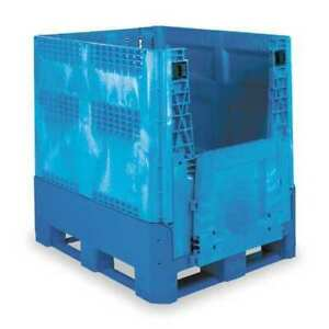 Buckhorn Bg4840460263000 Collapsible Container 48 X 40 In Blue