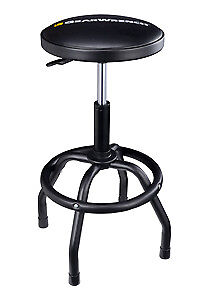 Gearwrench 86992 Adjustable Height Swivel Shop Stool