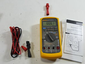 Fluke 787 Process Meter With A Nist traceable Calibration Certificate With Data