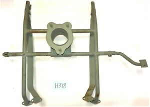 Used Oem 1949 1953 Mg Td Spare Tire Holder W Fuel Tank Straps H318