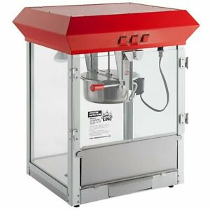 Carnival King Pm850 8 Oz Popcorn Machine Popper 120v 850w