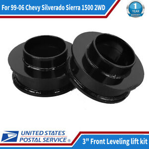 3 Front Leveling Lift Kit For 1999 2006 Chevy Silverado Sierra 1500 2wd Us