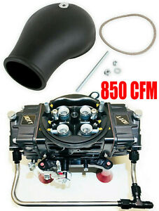 Quick Fuel Q 850 Ban Annular Mech Blow Thru Black Diamond Drag Race With Bonnet