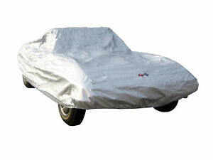 1963 1967 Corvette Car Cover C2 Outdoor Silverguard With Embroidered Logos
