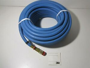 3m w 9435 100 3 8 Id 100ft Blue High Pressure Supplied Air Respirator Hose