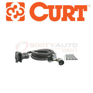 Curt Trailer Wiring Adapter Harness Extension For 2011 Ram 3500 5 7l 6 7l L6 Ck