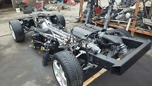 2001 Corvette C5 Rolling Chassis With Ls1 Engine And Manual Transmission 70k