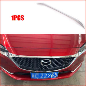 For Mazda 6 M6 Atenza Car Accessories Front Head Engine Lid Grille Trim 2018 20