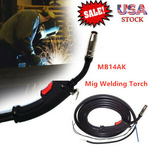 Mb14ak Electric Welder Complete Replace Mig Welding Pistol Parts Torch Stinger