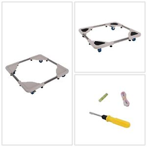 Washer Dolly Adjustable Appliance Mover Magic Chef Washing Machine Rolling Stand