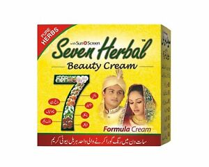Seven Herbal Beauty Cream Original FREE SHIPPING Special for Acne Wrinkle $8.98