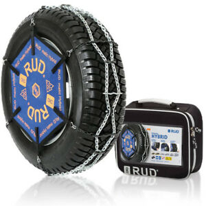 Snow Tire Chains Rud Rudmatic Hybrid H108 225 55 15 7 Mm Thickness