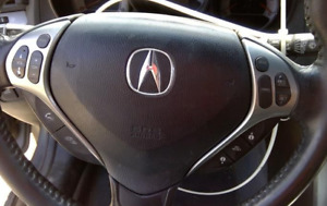2007 2008 Acura Tl Left Driver Side Steering Wheel Airbag Black Oem 07 08