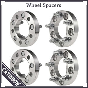 4pcs 1 1 2 Studs Wheel Spacers 5x4 5 For Ford Lincoln Mercury Jeep 1965 2014
