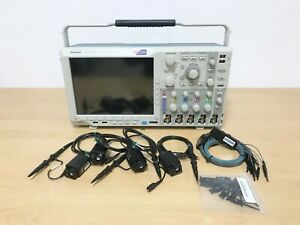 Tektronix Mso4034b 350mhz 2 5gs s 4ch Oscilloscope With P6616 Tpp0500 Probes