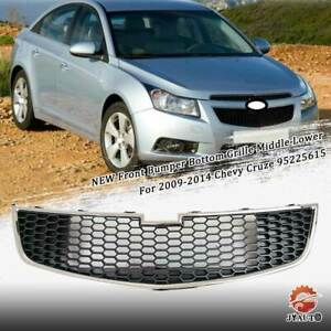 New Front Bumper Bottom Grille Middle Lower For 2009 2014 Chevy Cruze 95225615