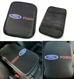 Ford Racing Enprint Carbon Car Center Console Armrest Cushion Mat Pad Cover X1