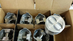 400 Chevy Forged Pistons L2352f Standard Bore Set Of 8