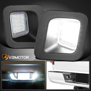 For 2003 2018 Dodge Ram 1500 2500 3500 Clear Rear License Plate Led Lights Lamps