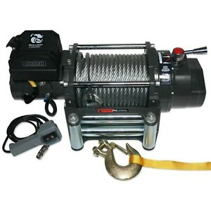 Bulldog Winch 10012 15000lb Truck Winch 7 2hp Series Wound 92ft Wire Rope