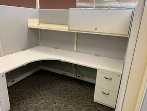 Used Office Cubicles Steelcase Enhanced 9000 7x6 Cubicles