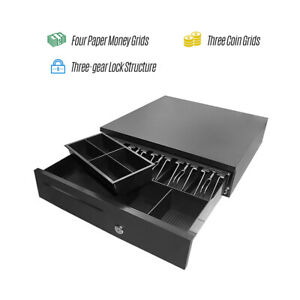 Smart Pos Cash Register Drawer Cashbox Rj11 Interface Movable Coin Tray W3x0