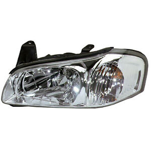 Headlight Left Driver Side Headlamp Fits 2000 2001 Nissan Maxima